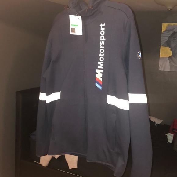 f4139850681e Men s puma BMW Motorsport hooded sweater jacket